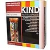KIND Bars, Nozes e Tempeiros, Pecan de Canela e Chocolate Escuro, 12 Barras, 1.4 oz (40 g)