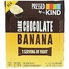 KIND Bars, Pressed by KIND, Dark Chocolate Banana, 12 Fruit Bars, 1.35 oz (38 g) Each