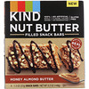 KIND Bars, Nut Butter Filled Snack Bars, Honey Almond Butter, 4 Bars, 1.3 oz (37 g) Each