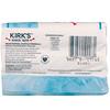 Kirk's, 100% Premium Coconut Oil Gentle Castile Soap, Original Fresh Scent, 3 Bars, 4 oz (113 g) Each