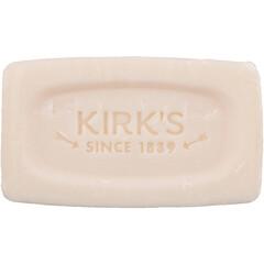 Kirk's, 100% Premium Coconut Oil Gentle Castile Soap, Soothing Aloe Vera, 1.13 oz (32 g)
