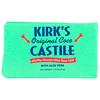 Kirk's, Original Coco Castile Soap, with Aloe Vera, 1 Bar, 1.13 oz (32 g)