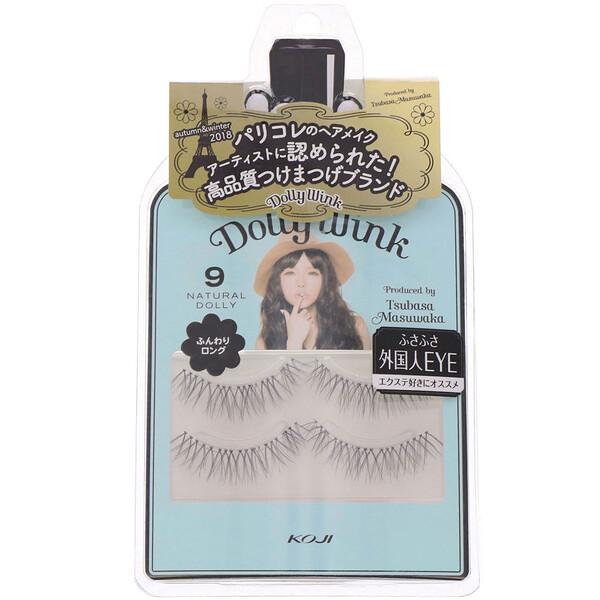 Dolly Wink, False Eyelashes, #9 Natural Dolly, 2 Pairs