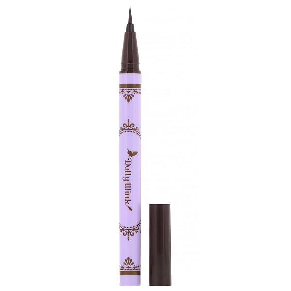 益若翼液體眼線筆,深棕色,0.2 液量盎司(7 毫升)