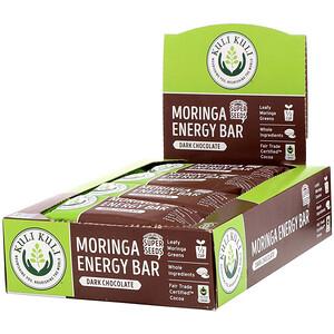 Kuli Kuli, Moringa Energy Bar, Dark Chocolate, 12 Bars, 1.6 oz (45 g) Each отзывы