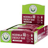 Kuli Kuli, Moringa Energy Bar, Black Cherry, 12 Bars, 1.6 oz (45 g) Each