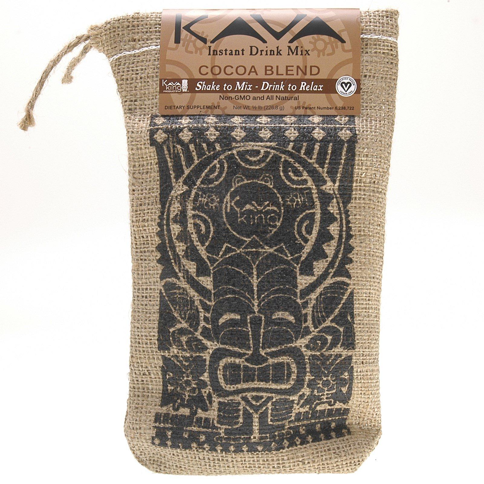 Kava King Products Inc, Растворимый напиток, смесь какао, 226,8 г (1/2 фунта)
