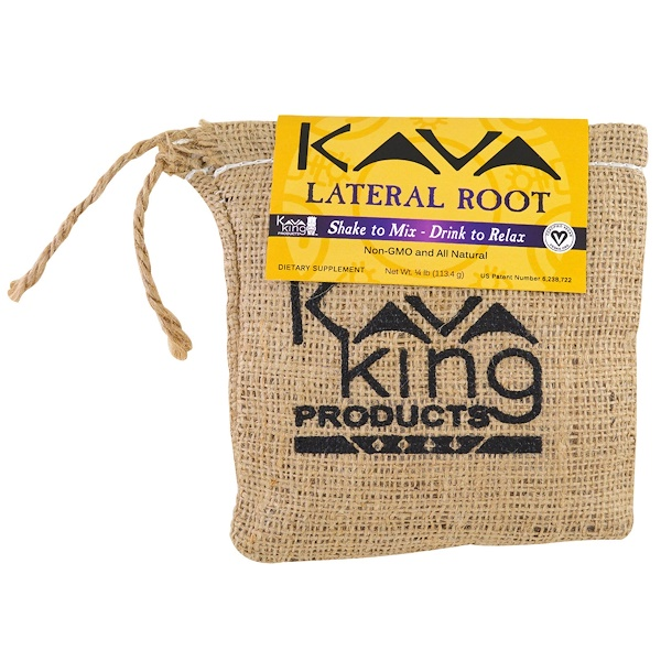 Kava King Products Inc, 側根,14磅(113、4克)