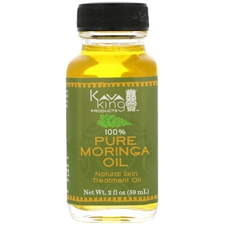 Kava King Products Inc, 100% Pure Moringa Oil, 2 fl oz (59 ml)