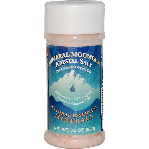 Klamath, Mineral Mountain Krystal Salt, 3.5 oz (98 g) (Discontinued Item)