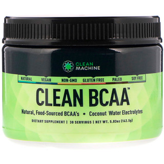 CLEAN MACHINE, Clean BCAA, 5.03 oz (142.5 g)