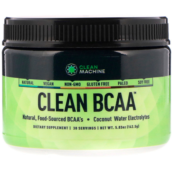 CLEAN MACHINE, Clean BCAA, 5.03 oz (142.5 gm) (Discontinued Item)