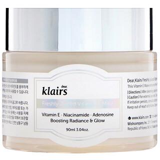 Dear, Klairs, Freshly Juiced Vitamin E Beauty Mask, 3.04 oz (90 ml)