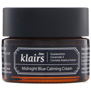 Dear, Klairs, Midnight Blue Calming Cream, 1 oz (30 ml)