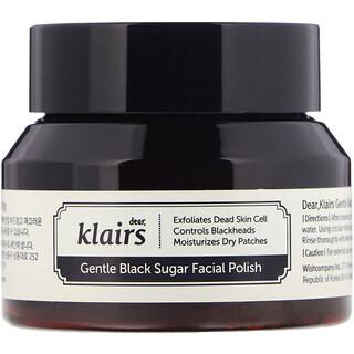 Dear, Klairs, Gentle Black Sugar Facial Polish, 3.8 oz (110 g)