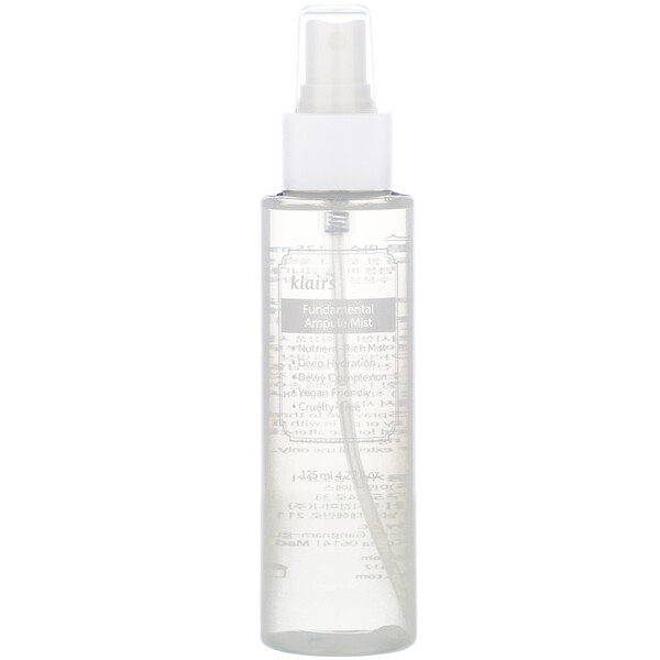 Dear, Klairs, Fundamental Ampule Mist, 4.22 fl oz (125 ml)