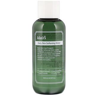 Dear, Klairs, Daily Skin Softening Water, 16.90 fl oz (500 ml)