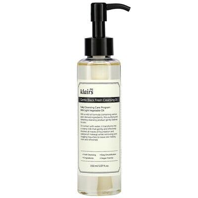 Купить Dear, Klairs Gentle Black Fresh Cleansing Oil, 5.07 fl oz (150 ml)