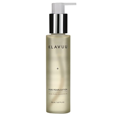 KLAVUU Pure Pearlsation, Divine Pearl Cleansing Oil, 5.07 fl oz (150 ml)  - купить со скидкой