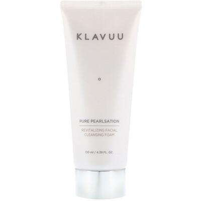 KLAVUU Pure Pearlsation, Revitalizing Facial Cleansing Foam, 4.39 fl oz (130 ml)