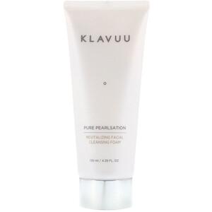 KLAVUU, Pure Pearlsation, Revitalizing Facial Cleansing Foam, 4.39 fl oz (130 ml) отзывы покупателей