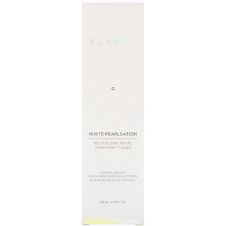 KLAVUU, White Pearlsation, Revitalizing Pearl Treatment Toner, 4.73 fl oz (140 ml)