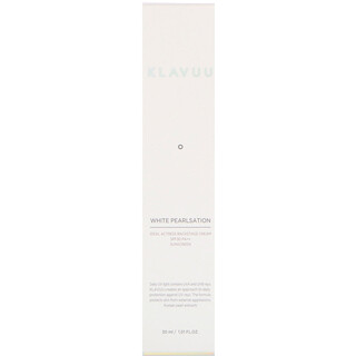 KLAVUU, White Pearlsation, Ideal Actress Backstage Cream SPF30 PA++ Sunscreen, 1.01 fl oz (30 ml)