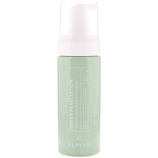 KLAVUU, Green Pearlsation, Blemish Care Bubble Cleanser, 5.07 fl oz (150 ml)