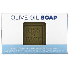 Kiss My Face, 橄欖油香皂,無香料,8 盎司(230 克)。