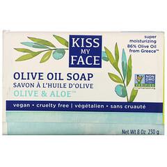 Kiss My Face, 橄欖油香皂,橄欖和蘆薈,8 盎司(230 克)