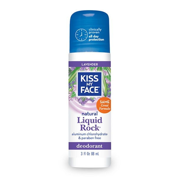 Kiss My Face, Natural Liquid Rock Deodorant, Lavender, 3 fl oz (88 ml)
