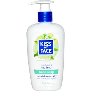 Кис май фэйс, Moisturizing Hand Soap, Tea Tree, 9 fl oz (266 ml) отзывы
