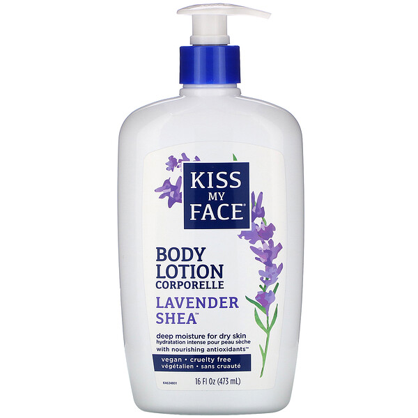 Body Lotion, Lavender Shea, 16 fl oz (473 ml)