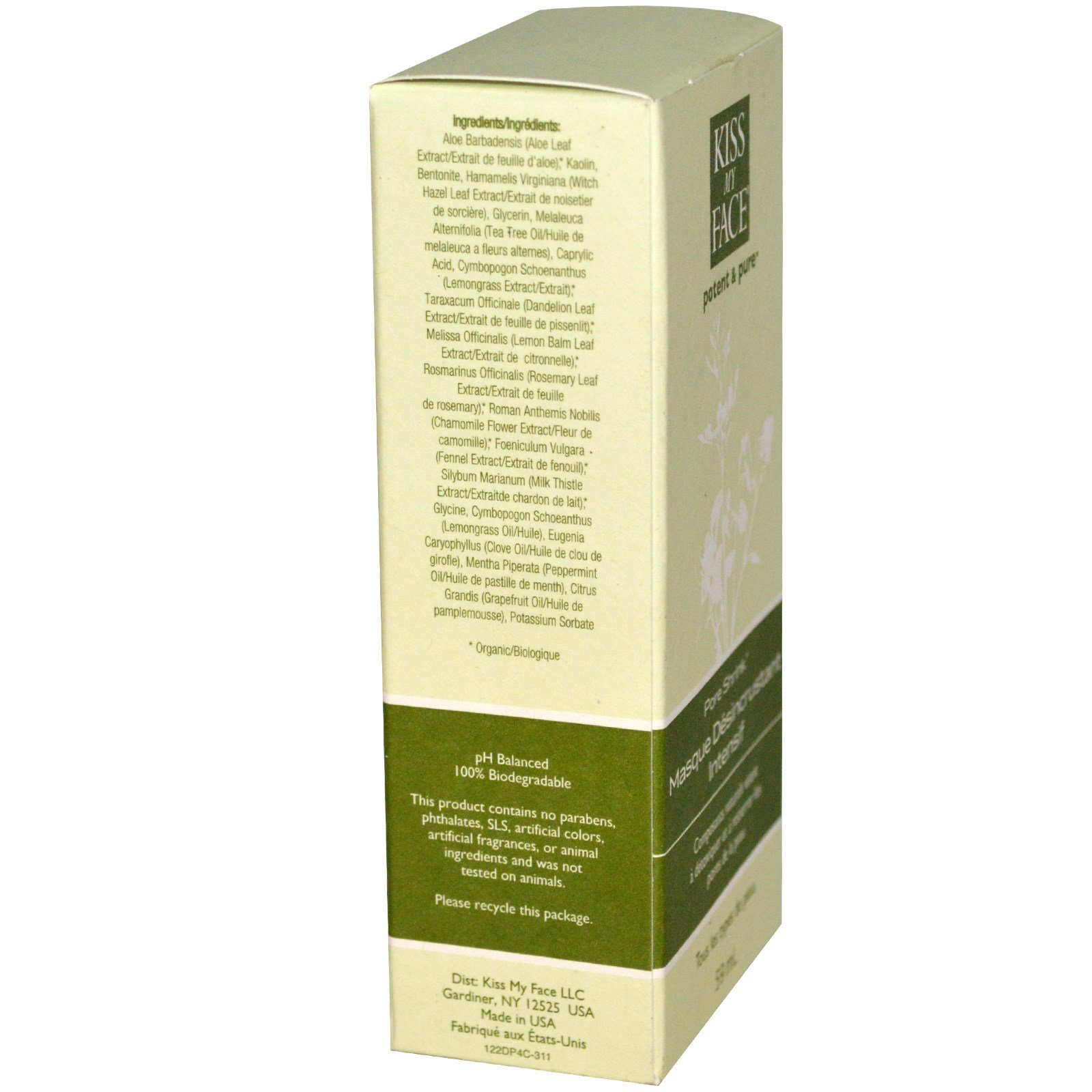 Pore Shrink Deep Cleansing Mask by Kiss My Face #16