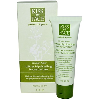 Kiss My Face, Under Age, humectante ultra hidratante, 1 fl oz (29 ml)