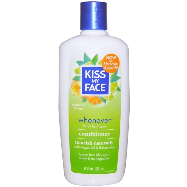 Kiss My Face, Whenever Conditioner, Green Tea & Lime, 11 fl oz (325 ml) (Discontinued Item)
