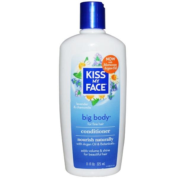Kiss My Face, Big Body Conditioner, Lavender & Chamomile, 11 fl oz (325 ml) (Discontinued Item)