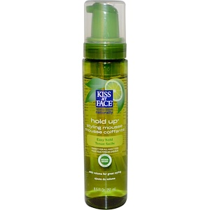 Кис май фэйс, Hold Up Styling Mousse, Green Tea & Lime, 8.5 fl oz (251 ml) отзывы