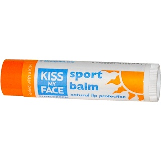 Kiss My Face, Sport Lip Balm, SPF 30, 0.15 oz (4.25 g)