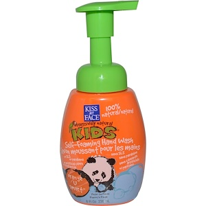 Кис май фэйс, Obsessively Natural Kids, Self-Foaming Hand Wash, Orange U Smart, 8 fl oz (236 ml) отзывы покупателей