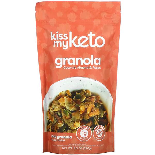 Keto Granola, Coconut, Almond & Pecan, 9.5 oz (270 g)