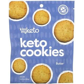 Kiss My Keto, Keto Cookies, Butter, 2.25 oz (64 g)