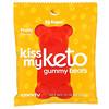 Kiss My Keto, Keto Gummy Bears, Fruity, 12 Bags, 0.79 oz (23 g) Each