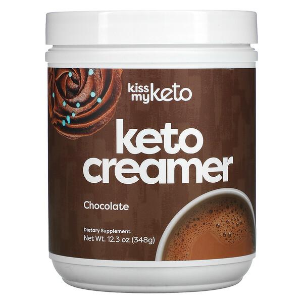 Keto Creamer, Chocolate, 12.3 oz (348 g)