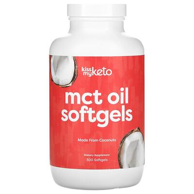 Купить Kiss My Keto MCT Oil Softgels, 300 Softgels