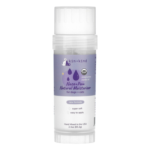 Nose & Paw Natural Moisturizer For Dogs & Cats, 2.3 oz (65.2 g)