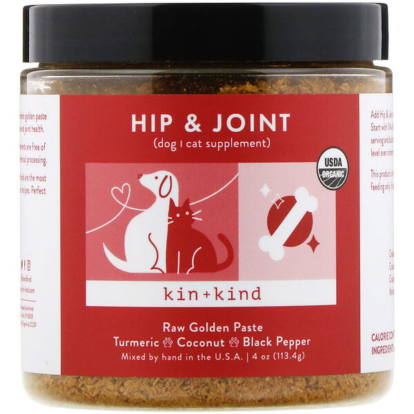 Hip & Joint, Raw Golden Paste, 4 oz (113.4 g)