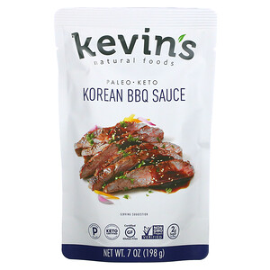 Kevins Natural Foods, Korean BBQ Sauce, Mild, 7 oz (198 g)'