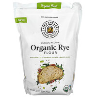 King Arthur Flour, Classic Medium Organic Rye Flour, 3 lbs (1.36 kg)