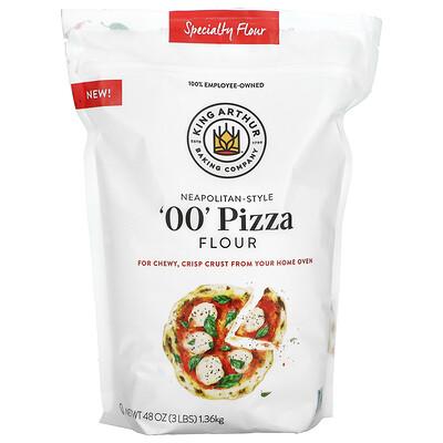 King Arthur Flour Neapolitan-Style '00' Pizza Specialty Flour, 3 lbs (1.36 kg)